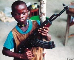 Liberian Soldier Boy